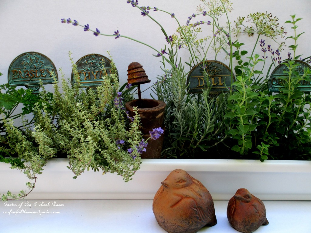 Herb Windowbox Http://ourfairfieldhomeandgarden.com/diy Windowsill  Windowboxes/