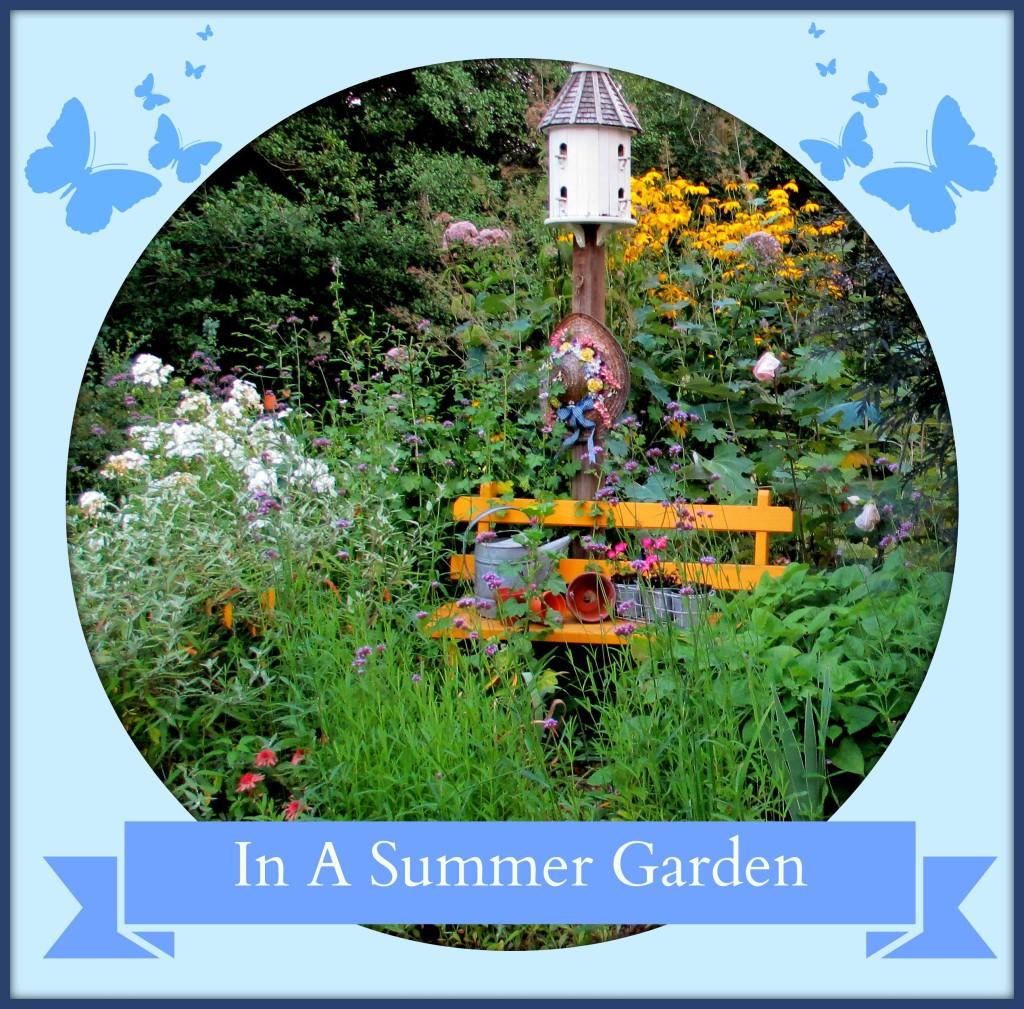 In A Summer Garden http://ourfairfieldhomeandgarden.com/in-a-summer-garden-our-fairfield-home-garden/