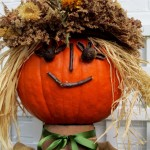 Pumpkin Head https://ourfairfieldhomeandgarden.com/fall-is-in-the-air/