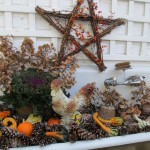 Fall Decorating Inside & Out https://ourfairfieldhomeandgarden.com/autumn-garden-accents-inside-and-out/