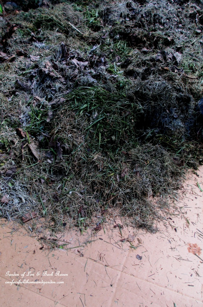 Use mulched yard clippings to build flowerbeds! https://ourfairfieldhomeandgarden.com/no-till-flowerbed-prep/