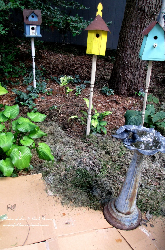 Easy Flowerbed Prep http://ourfairfieldhomeandgarden.com/no-till-flowerbed-prep/