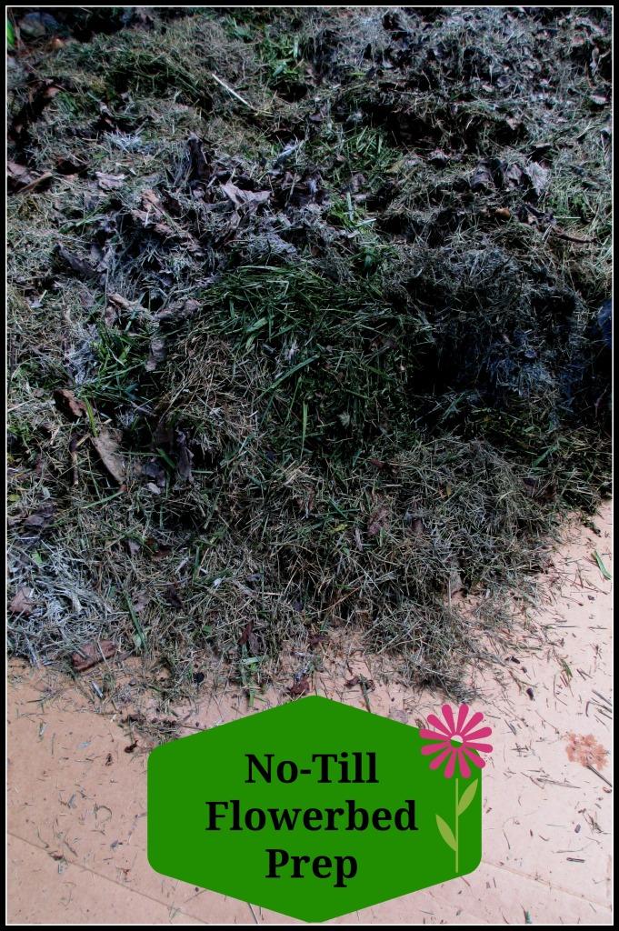 No Till Flowerbed Prep Our Fairfield Home Garden