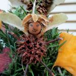 Handmade Fairy Ornaments http://ourfairfieldhomeandgarden.com/diy-a-fairy-merry-christmas/
