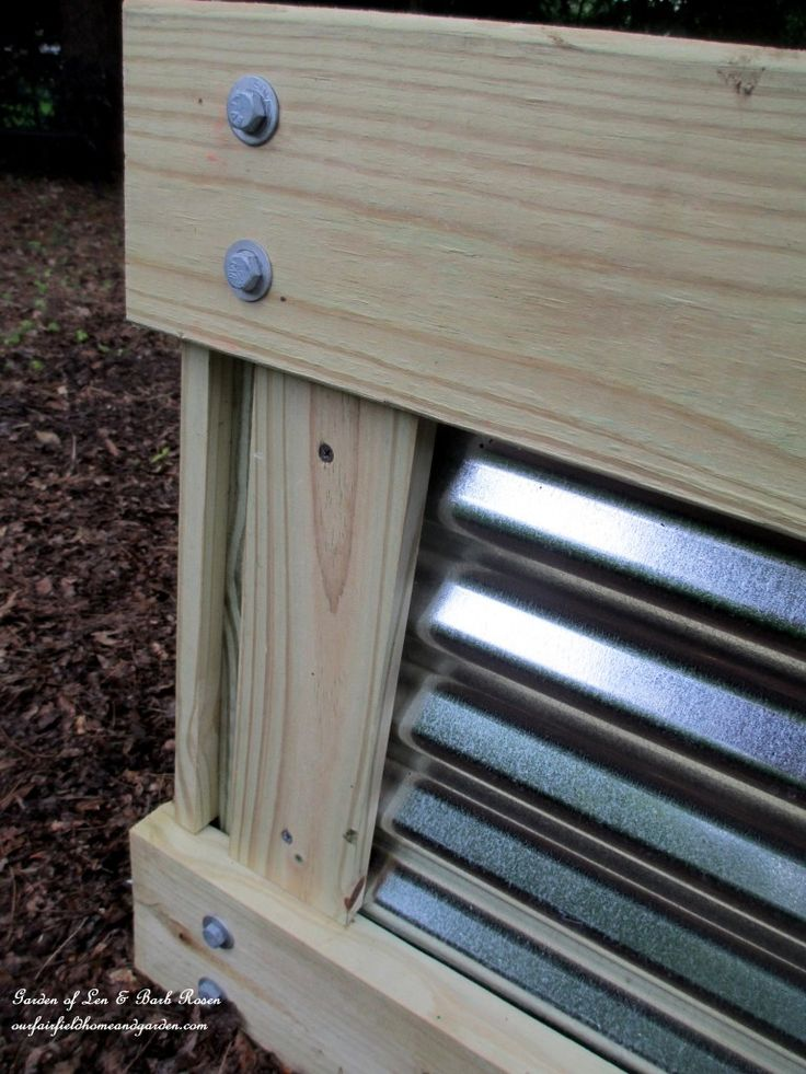 Build a Raised Bed Garden https://ourfairfieldhomeandgarden.com/build-a-raised-bed-garden-our-fairfield-home-garden/