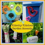 Kitschy Kitchen Garden Accents http://ourfairfieldhomeandgarden.com/kitschy-kitchen-garden-accents/