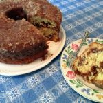 Grandmom's Apple Cake http://ourfairfieldhomeandgarden.com/its-apple-season-make-a-heavenly-apple-cake-with-a-sugary-crust-and-make-your-house-smell-divine/