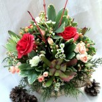 Valentine's Day Flowers http://ourfairfieldhomeandgarden.com/floral-workshop-a-winter-palette/