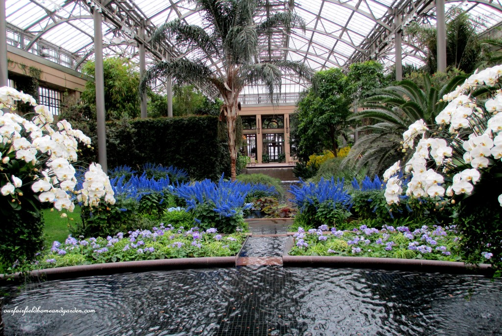 Longwood Gardens Conservatory http://ourfairfieldhomeandgarden.com/a-visit-to-longwood-gardens-orchid-extravaganza-2015/