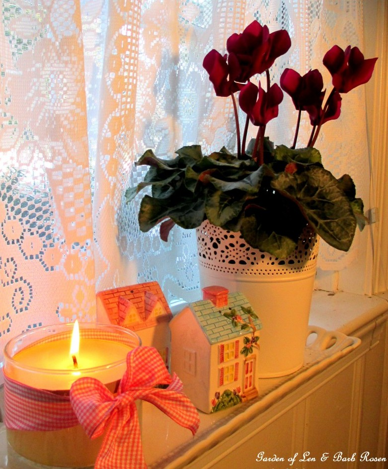 Candles and cyclamen https://ourfairfieldhomeandgarden.com/be-my-valentine-win-an-amaryllis/
