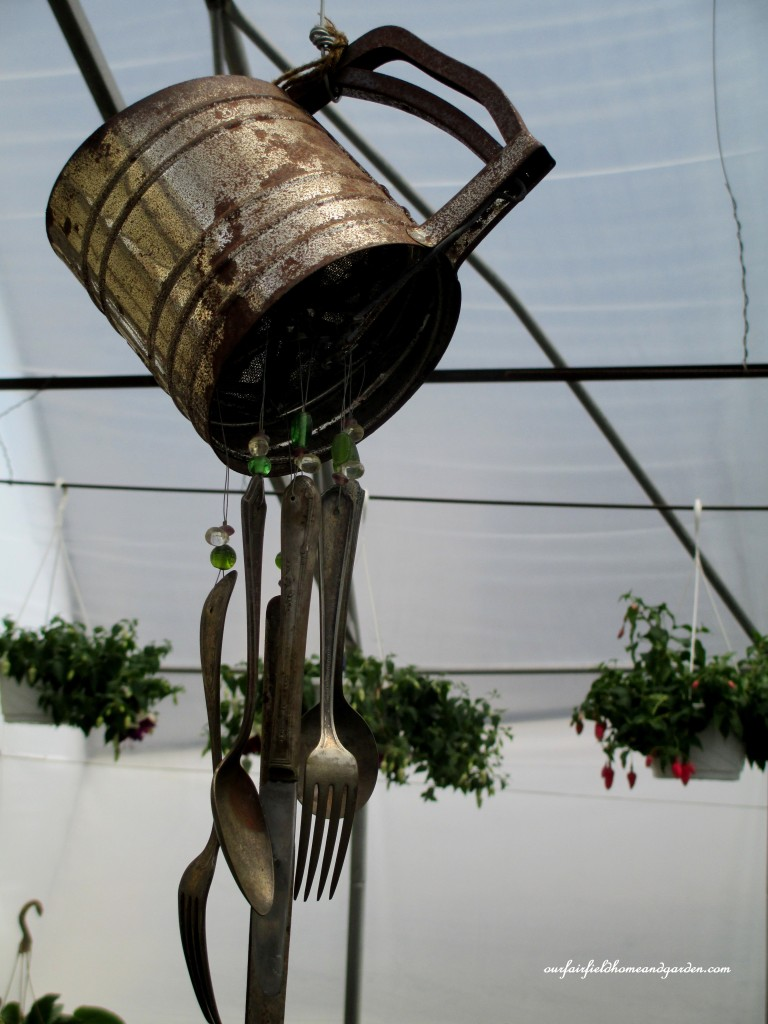 kitchen utensil windchime http://ourfairfieldhomeandgarden.com/road-trip-lancaster-county-greenhouses/