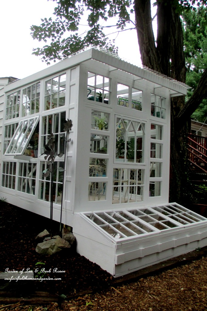 Do It Yourself Home Design: Building A Repurposed Windows Greenhouse