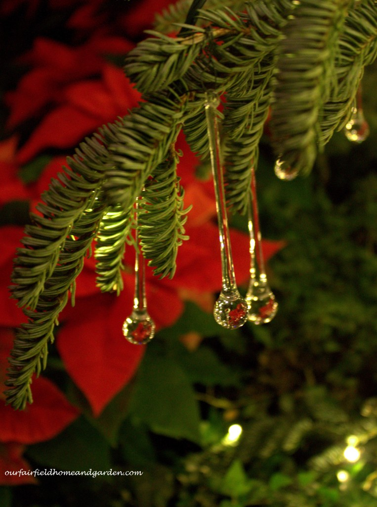 Glass Ornaments http://ourfairfieldhomeandgarden.com/a-longwood-christmas-evening-stroll/