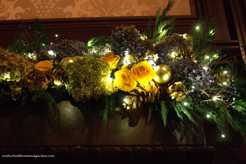 Dried Flowers and Evergreens http://ourfairfieldhomeandgarden.com/a-longwood-christmas-evening-stroll/