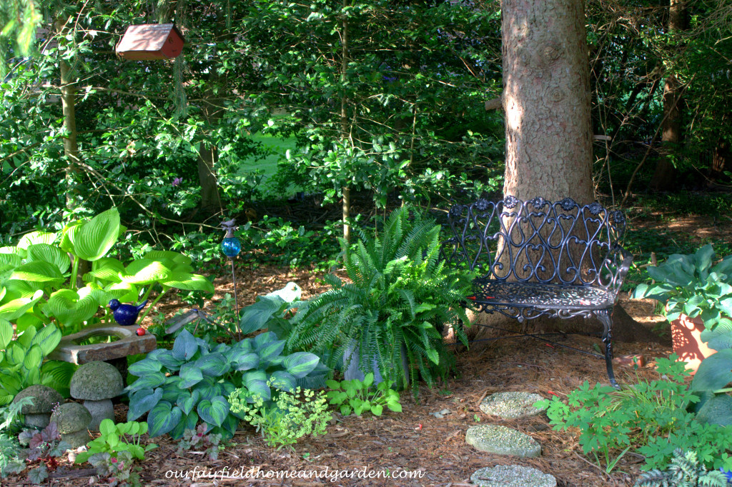 New Shade Garden http://ourfairfieldhomeandgarden.com/our-fairfield-home-and-garden-tour/