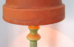 Flower Pot Lamp Shade