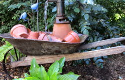 Wheelbarrow Water Feature