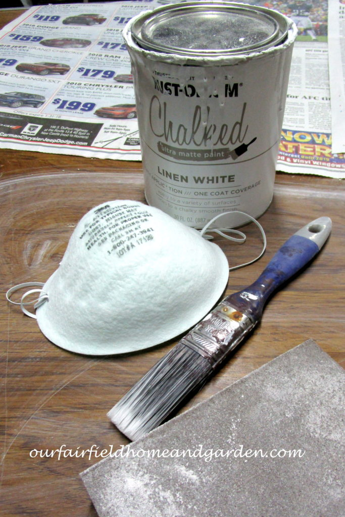Chalk Paint Magic http://ourfairfieldhomeandgarden.com/chalk-paint-magic-theres-money-in-the-basement/