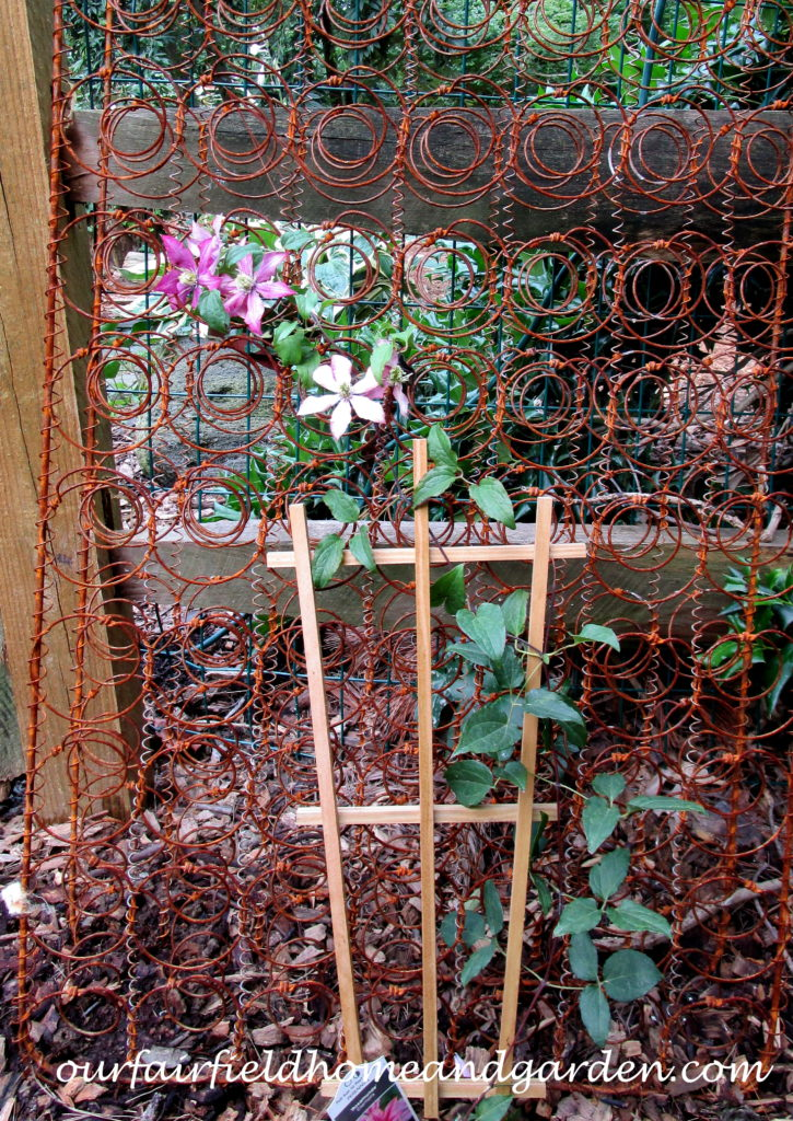 Bed Springs Trellis https://ourfairfieldhomeandgarden.com/bed-springs-trellis/