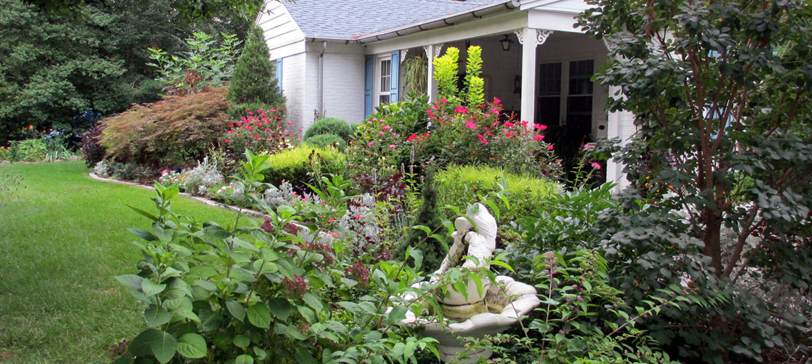 Take a relaxing walk in Our Fairfield Home & Garden